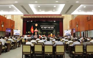 Tin tức - Chính trị - Khai mạc kỳ họp thứ 6 HĐND TP.HCM: Thảo luận sâu về lập trật tự lòng đường, vỉa hè