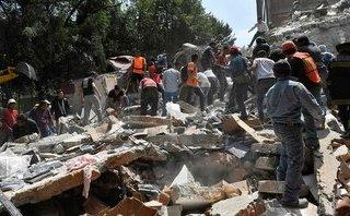 Tiêu điểm - Hiện trường động đất kinh hoàng ở Mexico khiến 138 người thiệt mạng