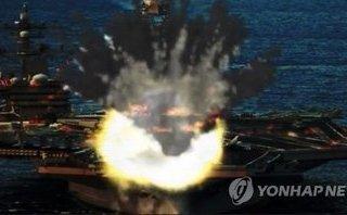 Tiêu điểm - Giải mã video mô phỏng Triều Tiên đánh chìm tàu sân bay Mỹ