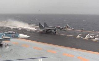 Quân sự - Syria: Nga công bố video chiến đấu cơ Su-33 dũng mãnh không kích IS