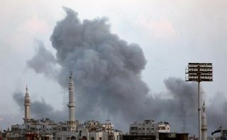 Quân sự - Quân Chính phủ Syria không kích thành trì cuối cùng của phe nổi dậy
