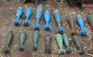 Quân sự - Syria: Hình ảnh đáng sợ về những loại vũ khí của phiến quân mới được phát hiện