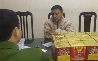 An ninh - Hình sự - Hà Nội: Bị bắt giữ khi đang vận chuyển thuê 23kg pháo