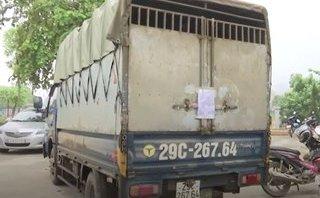 An ninh - Hình sự - Lào Cai: Bắt quả tang xe tải chở gần 2 mét khối gỗ quý