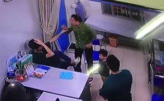 An ninh - Hình sự - Hà Nội: Bác sĩ bị người nhà bệnh nhân đấm liên tục vào mặt khi đang khám bệnh