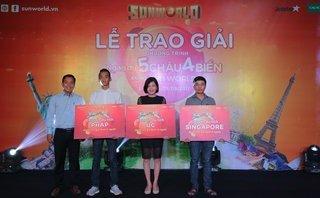 Kinh doanh - Các khách hàng Sun World bất ngờ trúng thưởng tour du lịch quốc tế tới Pháp, Úc
