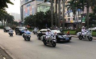Xe++ - Đội xe Yamaha FJR1300 P dẫn đoàn các nguyên thủ có gì đặc biệt?