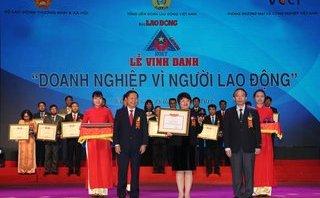 Kinh doanh - BIDV xuất sắc nhận giải thưởng doanh nghiệp vì người lao động
