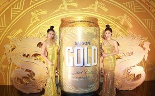 Thương hiệu - Bia Sài Gòn chính thức ra mắt sản phẩm bia cao cấp Saigon Gold