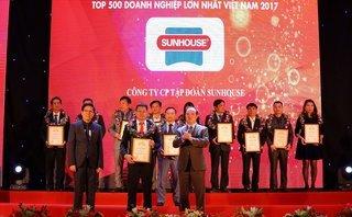 Tiêu dùng & Dư luận - SUNHOUSE được vinh danh 'Top 500 doanh nghiệp lớn nhất Việt Nam'