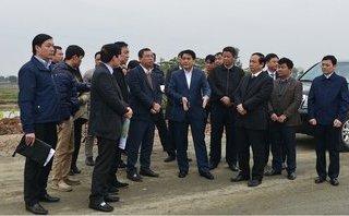 Chủ tịch TP Hà Nội kiểm tra dự án xây dựng đường trục phía Nam