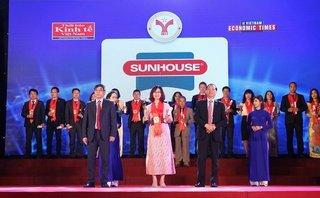 Tiêu dùng & Dư luận - SUNHOUSE tiếp tục đón nhận danh hiệu Thương hiệu mạnh Việt Nam
