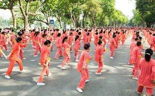 Vinamilk đồng hành cùng phong trào rèn luyện sức khỏe người cao tuổi tại TP.Hà Nội