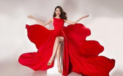 Ngôi sao - Đầu năm mới, Hoa hậu Phạm Hương 'bung lụa' rực rỡ đón tin vui