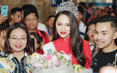 Ngôi sao - Hoa hậu Hương Giang: 'Rất nhớ quê hương, gia đình, người hâm mộ, nên Giang về'