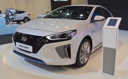 Xe++ - Hyundai Ioniq hybrid ra mắt tại triển lãm Dubai Motor Show 2017