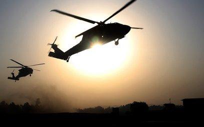 """Quân sự - Syria: Nghi vấn trực thăng Mỹ """"bốc"""" IS đi từ nhà tù bí mật ở al-Hasakah"""