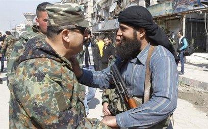Quân sự - Lữ đoàn chủ chốt của phiến quân gia nhập quân đội Syria ở Đông Qalamoun