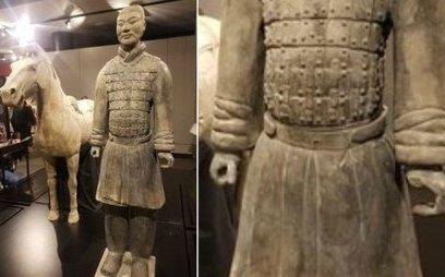 Tiêu điểm - Trung Quốc tức giận vì 'chiến binh đất nung' bị trộm ngón tay