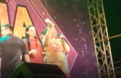 Tin nhanh - Thông tin mới vụ khán giả lên sân khấu báo bị mất 1 lượng vàng