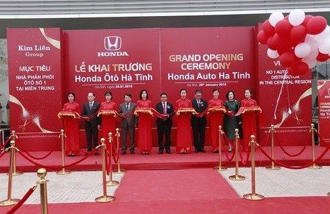 Thị trường - Khai trương đại lý Honda ôtô hiện đại bậc nhất Việt Nam tại Hà Tĩnh