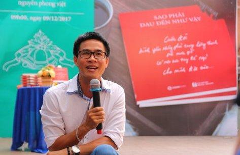 Văn hoá - Nhà thơ Nguyễn Phong Việt: 'Tôi từng rơi nước mắt khi đọc lại thơ mình'!
