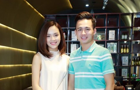 Giải trí - Chồng tương lai của top 10 HHVN 2016 Tố Như lần đầu lộ diện