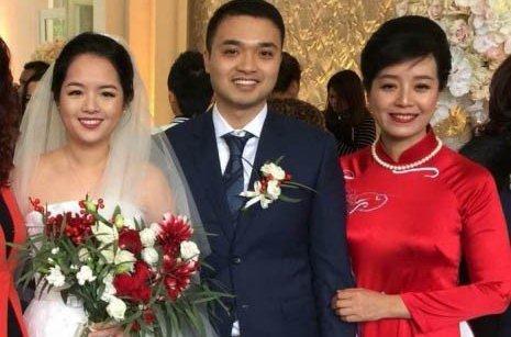 Ngôi sao - Con gái nhạc sĩ Đỗ Hồng Quân - NS Chiều Xuân rạng rỡ trong đám cưới