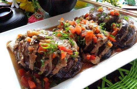 Gia đình - Món ngon mỗi ngày: Công thức làm món cà tím nhồi thịt xốt cà chua