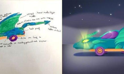 Cuộc sống số - Độc đáo với ý tưởng siêu xe tương lai chạy bằng... socola