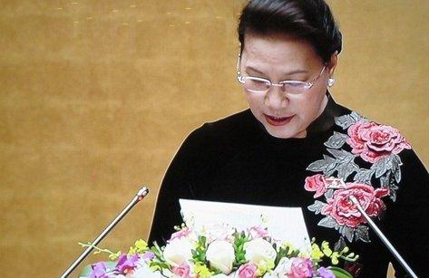 Tin tức - Chính trị - Chủ tịch QH: 'Tinh thần đổi mới, sáng tạo, hành động tiếp tục được thể hiện rõ tại kỳ họp thứ 4'