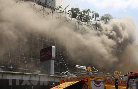 Tiêu điểm - Philippines: Cháy lớn ở khách sạn, ít nhất 4 người thiệt mạng