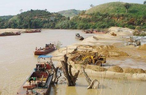 Tin tức - Chính trị - Phó Thủ tướng yêu cầu điều tra hoạt động khai thác cát trái phép tại Hưng Yên