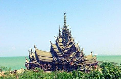Mới- nóng - Clip: Ngôi đền bằng gỗ được dựng nên mà không cần 1 chiếc đinh