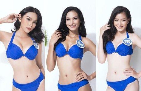 Giải trí - Nóng bỏng dàn thí sinh Hoa hậu Đại dương 2017 trong bikini