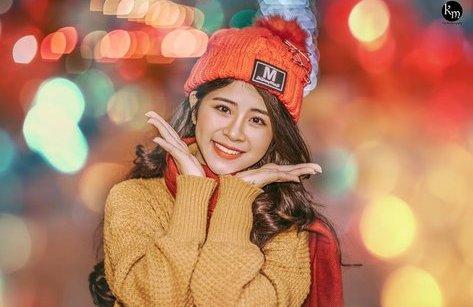 Cộng đồng mạng - Thiếu nữ 18 tuổi gây thương nhớ vì cực xinh trong bộ ảnh chào Noel