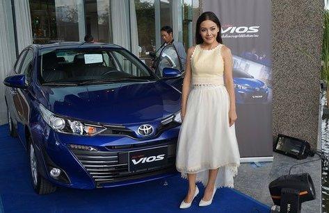 Xe++ - Toyota Yaris Ativ ra mắt tại Lào có tên gọi Toyota Vios