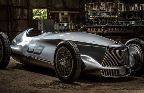 Xe++ - Chiêm ngưỡng siêu xe đua giả cổ từ Infiniti