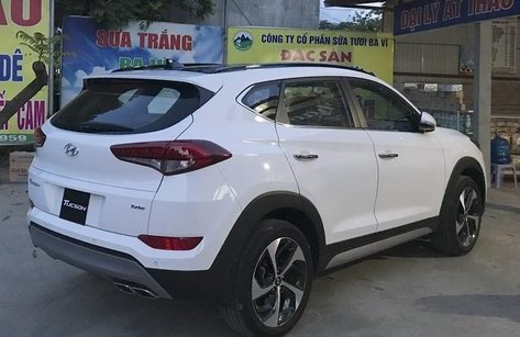 Xe++ - Hyundai Tucson Turbo 2017 'lộ diện' trên đường phố Hà Nội