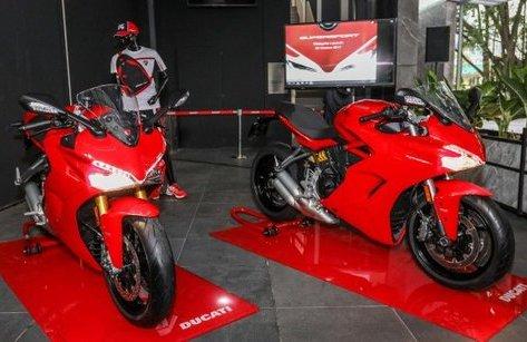 Xe++ - Ducati SuperSport 2017 ra mắt Malaysia, giá 434,4 triệu đồng