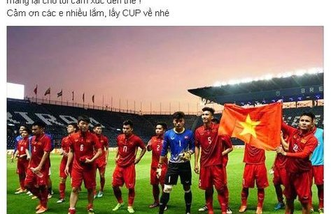 Cộng đồng mạng - Người hâm mộ Việt Nam mở tiệc ăn mừng đội tuyển U23  trên Facebook thế nào?