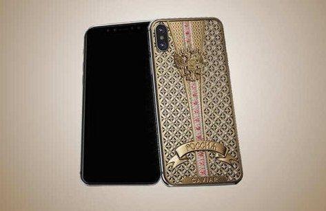 Sản phẩm - Độc đáo chiếc iPhone X nạm kim cương giá gần 1 tỷ đồng