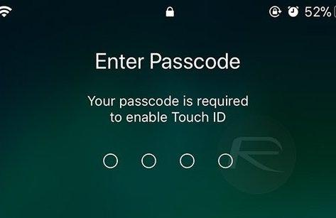 Công nghệ - Vô hiệu hoá Touch ID trong iOS 11 không cần mở khóa thiết bị