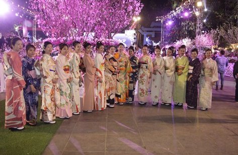 Dân sinh - Lễ hội hoa anh đào thu hút sự chú ý của hàng ngàn người dân Hà Nội
