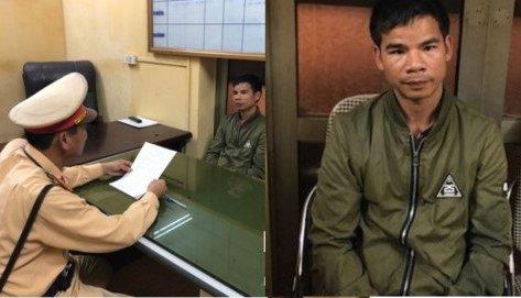 An ninh - Hình sự - CSGT Hà Nội bắt giữ đối tượng bị truy nã đang bỏ trốn