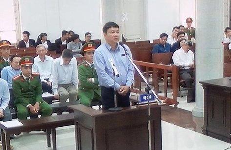 Hồ sơ điều tra - Bị cáo Đinh La Thăng nói không biết việc góp vốn vào OceanBank?