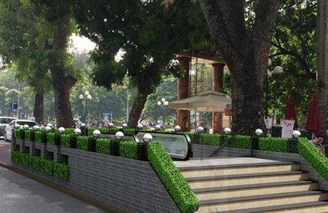 Môi trường - Nếu làm ga ngầm cạnh Hồ Gươm, phải chặt, chuyển nhiều cây quý hiếm