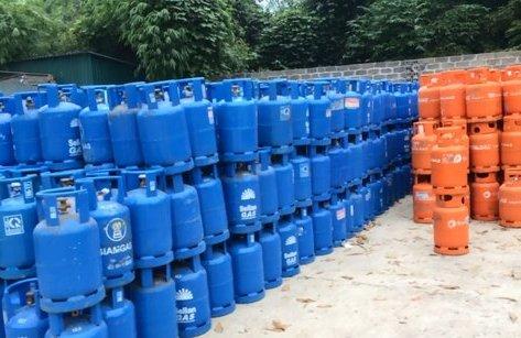 An ninh - Hình sự - Thêm một nhà máy chiếm dụng vỏ bình gas trái phép ở Hòa Bình