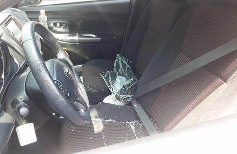 An ninh - Hình sự - Điều tra vụ đập kính ô tô trộm đồ trong bãi giữ xe siêu thị Co.op mart