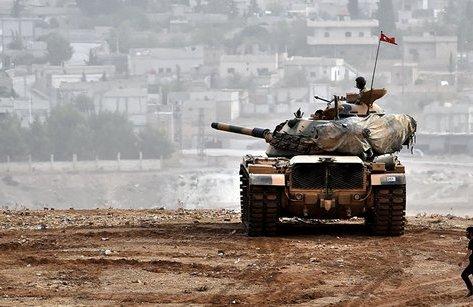 Quân sự - Syria: Giao tranh ác liệt, người Kurd nã tên lửa điều hướng phá hủy xe tăng của Thổ Nhĩ Kỳ